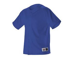7b0ffe6d3 ... Youth Warp Knit Full Button Front Baseball Jersey (PWRPJY). Categories:  Baseball ...